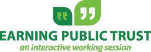 CAMA Earning Public Trust Logo